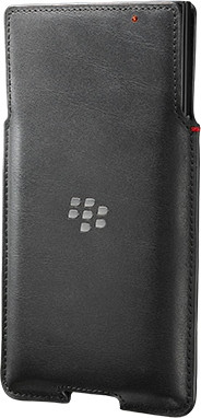 Blackberry Priv Leather Pocket Zwart