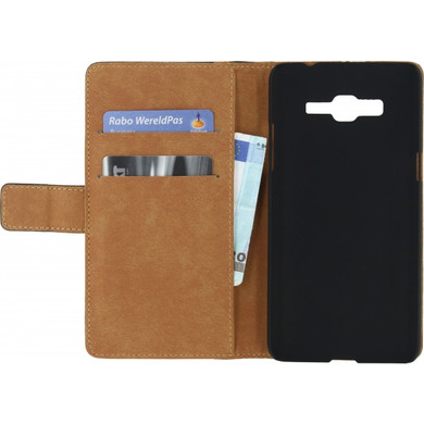 Mobilize Classic Wallet Book Case Samsung Galaxy Grand Prime Zwart