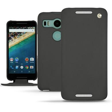 Noreve Tradition Leather Case LG Nexus 5X Zwart
