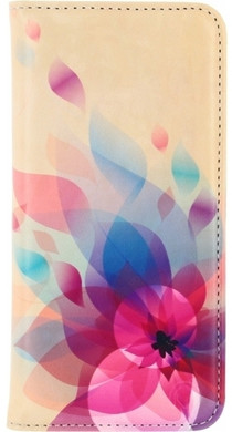 Mobilize Premium Magnet Book Case Samsung Galaxy Grand Prime Fire Flower