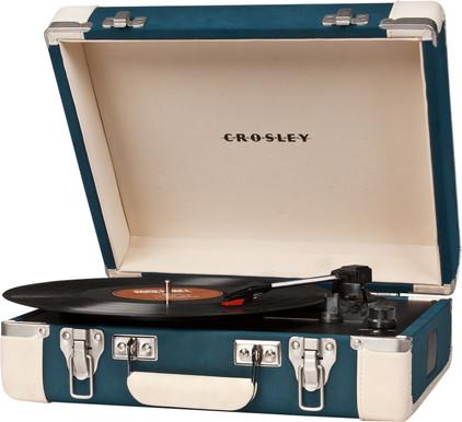 Crosley Executive Blauw/Creme