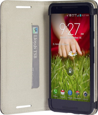 Krusell Malmo Wallet Case LG Nexus 5X Zwart