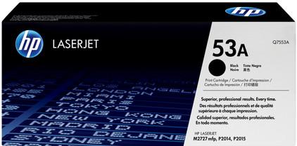 HP 53A LaserJet Toner Zwart (Q7553A)