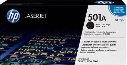 HP 501A LaserJet Toner Zwart (Q6470A)