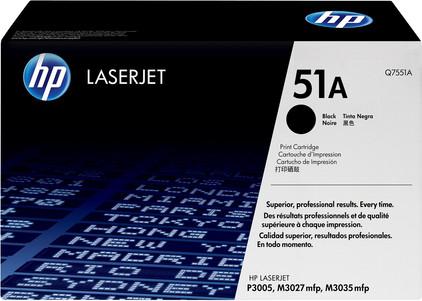 HP 51A LaserJet Toner Zwart (Q7551A)