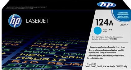 HP 124A LaserJet Toner Cyaan (Q6001A)