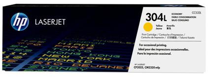 HP 304L Economy Toner Geel (CC532L)