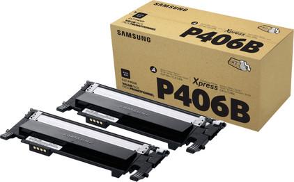 Samsung CLT-P406B Toner Zwart (Duo Pack)