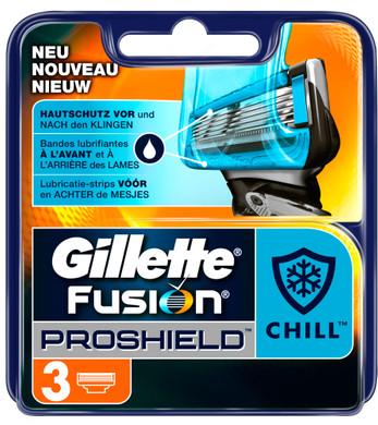 3x Gillette Fusion ProShield