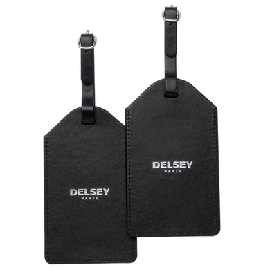 Delsey Travel Necessities Hangtag (x2) Black