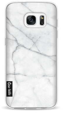 Casetastic Softcover Samsung Galaxy S7 White Marble