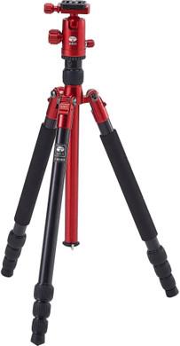 Sirui UltraLight T-004X+C10S Rood