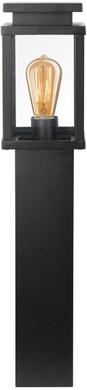 KS Verlichting Jersey Terras Sokkellamp Zwart 60 cm
