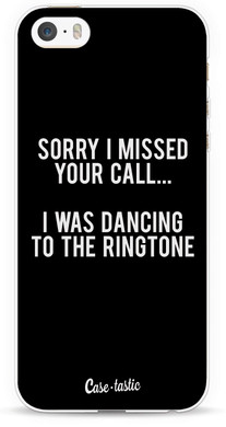 Casetastic Softcover Apple iPhone 5/5S/SE Dancing