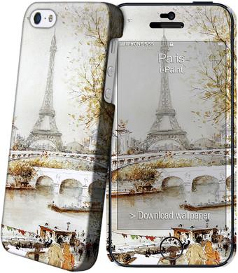 I-Paint Cover Apple iPhone 5/5S/SE Paris