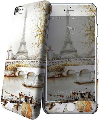 I-Paint Cover Apple iPhone 6/6s Paris