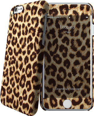 I-Paint Cover Apple iPhone 6/6s Leopard