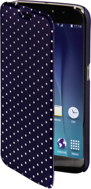 Hama Booklet Luminous Dots Samsung Galaxy S6 Donkerblauw