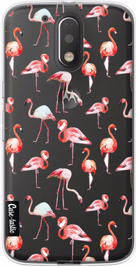 Casetastic Softcover Motorola Moto G4/G4 Plus Flamingo Party