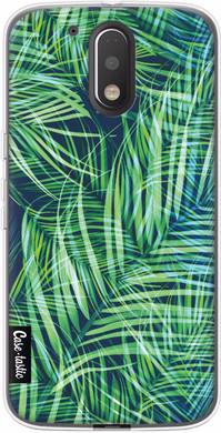 Casetastic Softcover Motorola Moto G4/G4 Plus Palm Leaves