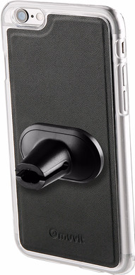 Muvit Magnet Case Autohouder Apple iPhone 7 Plus Zwart