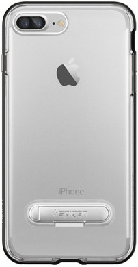 Spigen Crystal Hybrid Apple iPhone 7 Plus Zwart