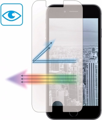 Mobiparts Tempered Glass Anti Blue Light Apple iPhone 7