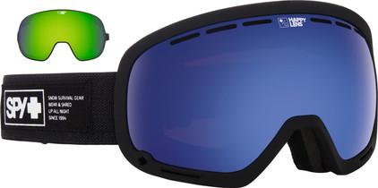 SPY Marshall Noctural + Dark Blue & Yellow/Green Spectra Lenzen