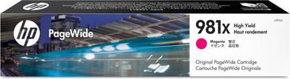 HP 981X Cartridge Magenta (L0R10A)