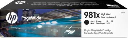 HP 981X Cartridge Zwart (L0R12A)