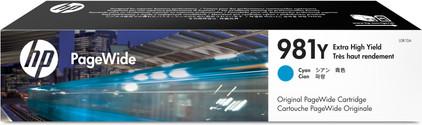 HP 981Y Cartridge Cyaan (L0R13A)
