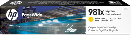 HP 981X Cartridge Geel (L0R11A)