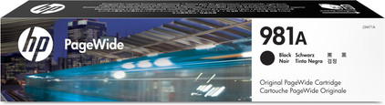 HP 981A Cartridge Zwart(J3M71A)