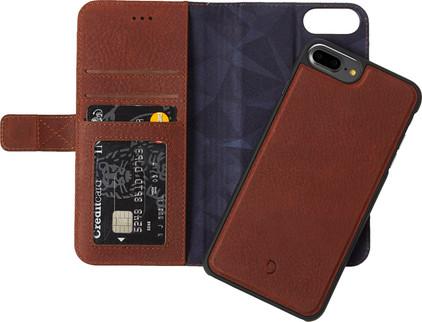 Decoded Leather 2-in-1 Wallet Case Apple iPhone 6 Plus/6s Plus/7 Plus/8 Plus Bruin