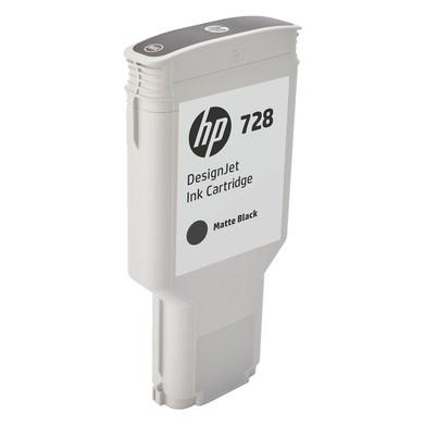 HP 728 Cartridge Matzwart XXL (F9J68A)