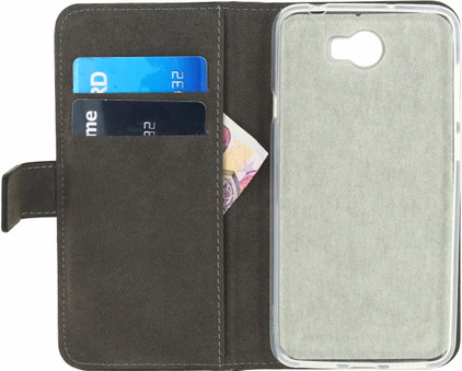 Mobilize Classic Gelly Wallet Book Case Huawei Y5 II Zwart