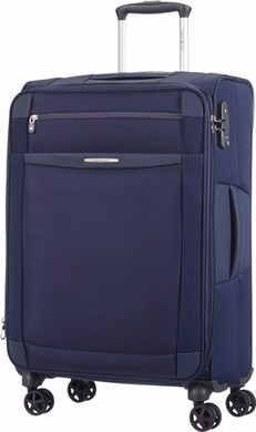Samsonite Dynamo Expandable Spinner 67cm Navy Blue