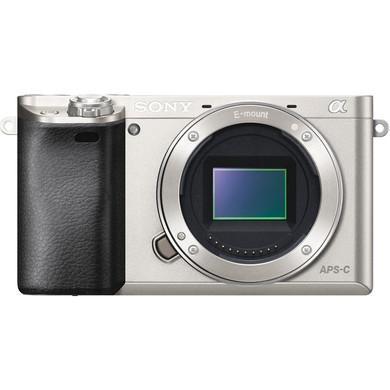 Sony Alpha A6000 Body Zilver