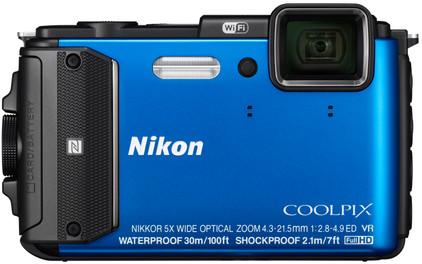Nikon Coolpix AW130 blauw