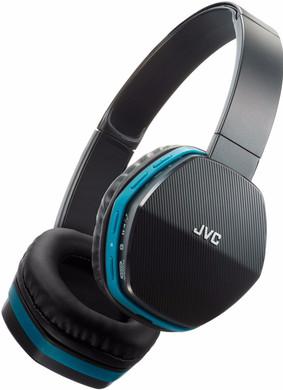JVC HA-SBT5 Zwart/Blauw