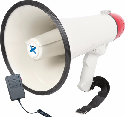 Vexus MEG040 Megafoon 40W Wit/Rood