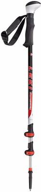 Leki Photosystem Aluminium Black/Red 150 cm