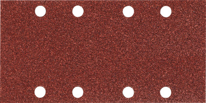 Makita Schuurstrook 93x228mm K80 Rood G (10x)