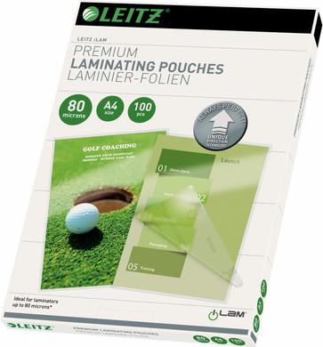 Leitz UDT iLAM Lamineerhoezen 80 micron A4 (100 Stuks)