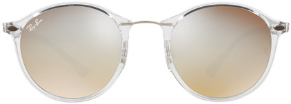 Ray-Ban Round RB4242 Transparent / Brown