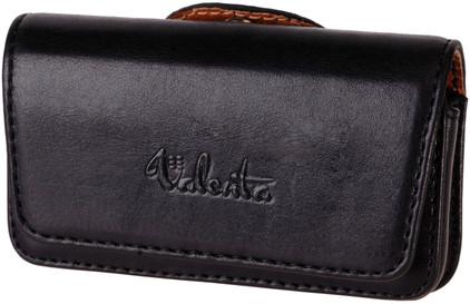 Valenta Leather Case Arezzo XL Zwart