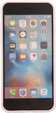 Muvit Frame Apple iPhone 6/6s Back Cover Wit