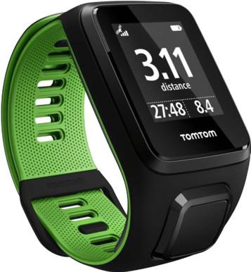 TomTom Runner 3 Cardio Black/Green - S