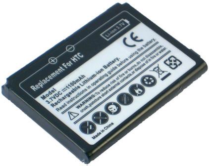 Veripart Battery HTC Touch 3G 1100 mAh + Thuislader