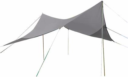 Bo-Camp Tarp Travel Ruit 4-Hoekig 3x3 Meter